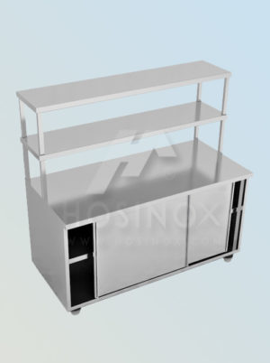 base cabinet with upper shelf HOSINOX