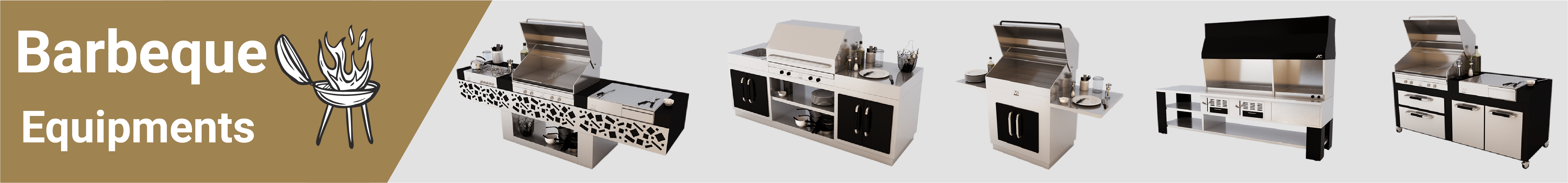 Hosinox for stainless steel equipment-Barbecue